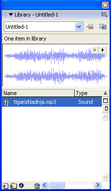add mp3 audio file to flash