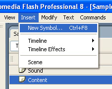 sound on off button in flash project
